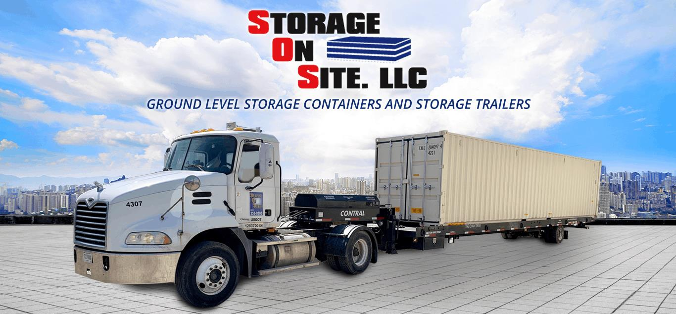 Storage On Site storage containers and trailers for sale or rent - Indianapolis